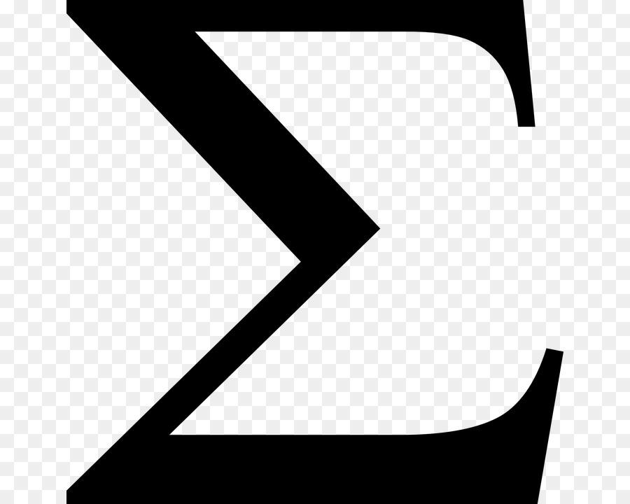 Sigma Symbol Clip Art Symbol Png Download 710720 Free