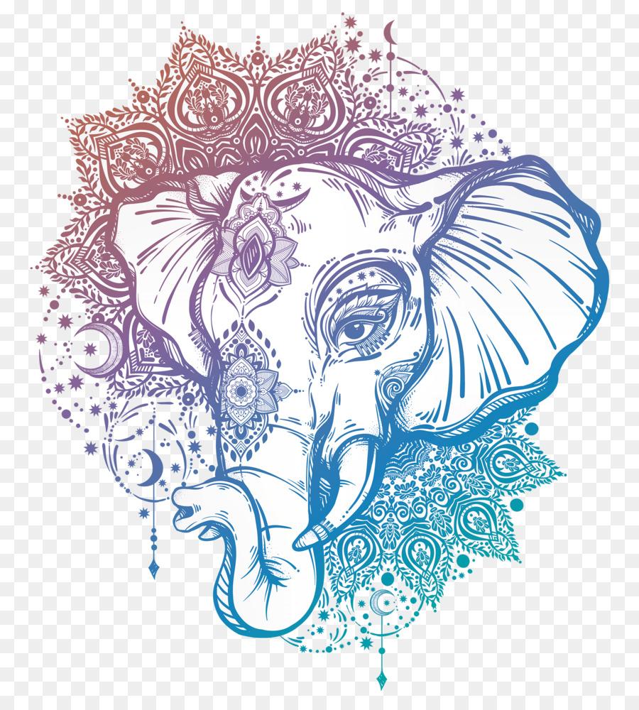 artista de tatuaje mandala elefante ganesha ganesha lotus clip art black and white lotus clip art black and white
