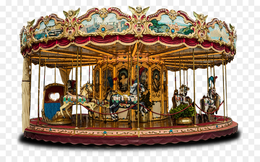Flying Horse Carousel Carousel Gardens Amusement Park Others Png