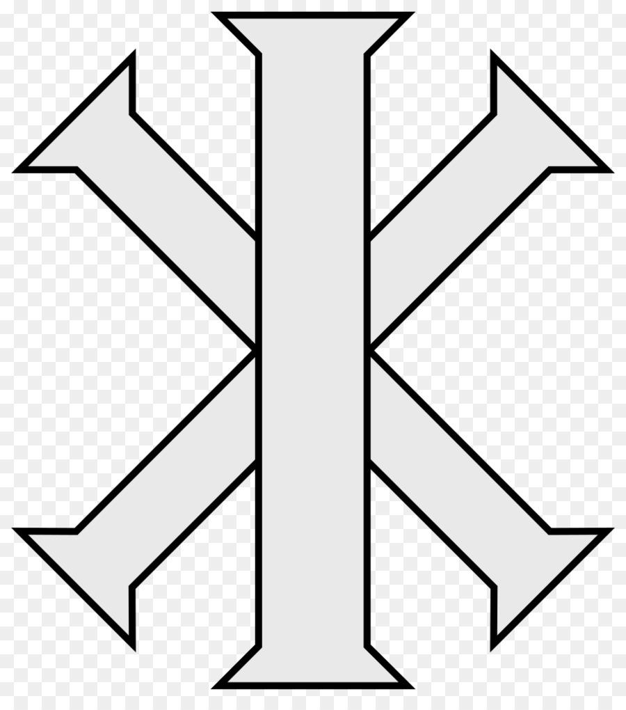 Chi Rho Christian Cross Ix Monogram Symbol Christian Cross Png