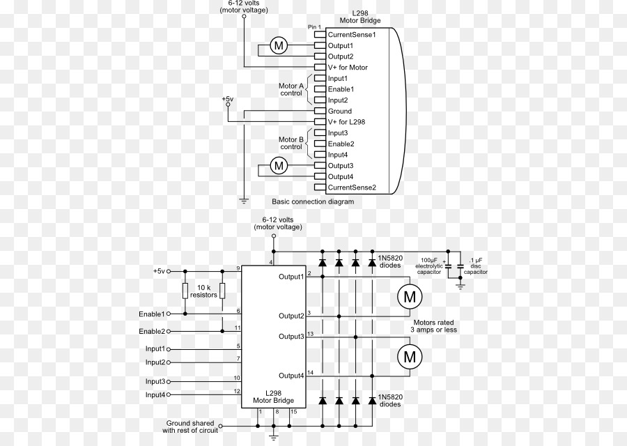 Groovy H Bridge Integrated Circuits Chips Driver Circuit Circuit Diagram Wiring 101 Relewellnesstrialsorg