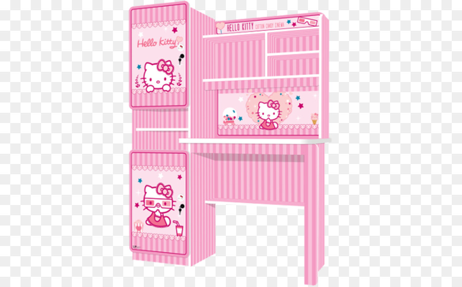 hello kitty furniture. Table Hello Kitty Furniture Chair Office - Cotton Candy Cart
