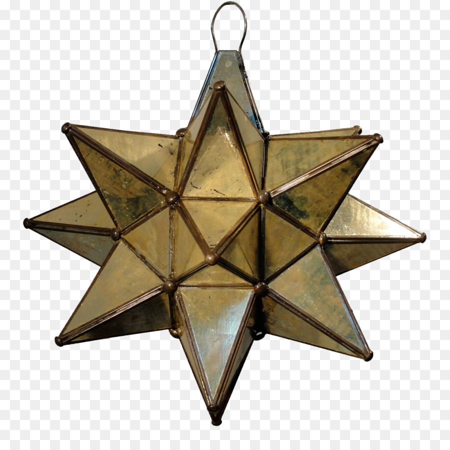 Pendant light Light fixture Lighting Chandelier - hanging stars png ...