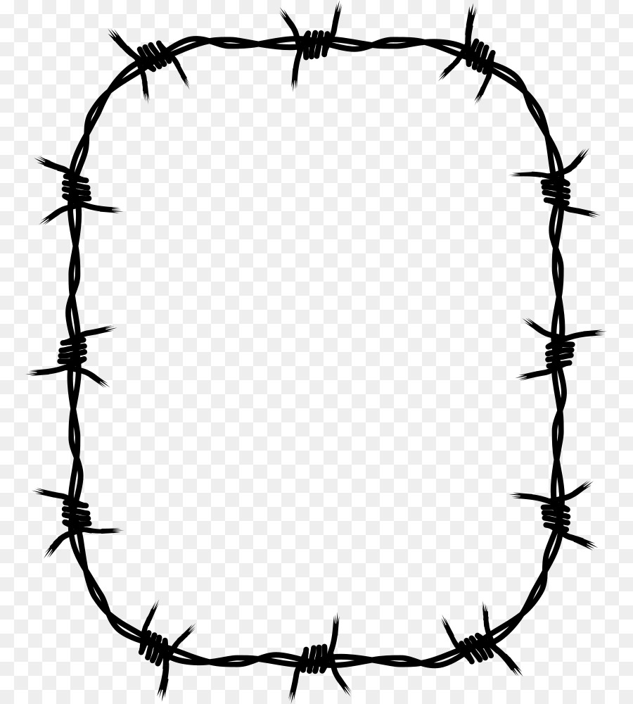 Barbed wire Barbed tape Wire rope Clip art - others png download ...