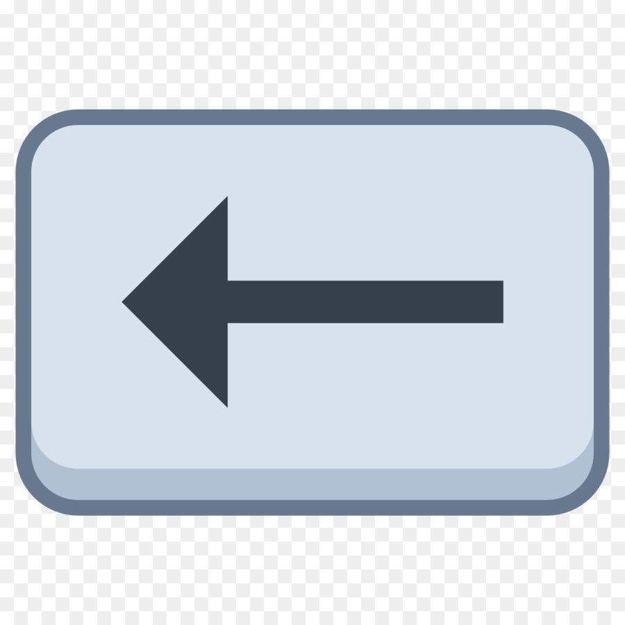 Computer Keyboard Backspace Delete Key Symbol Arrow Downloading