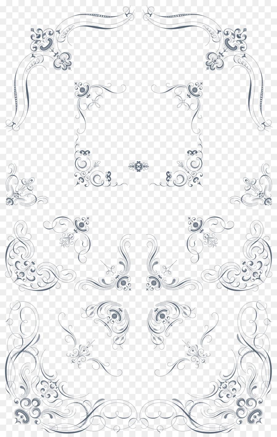 Decorative Corners Clip Art