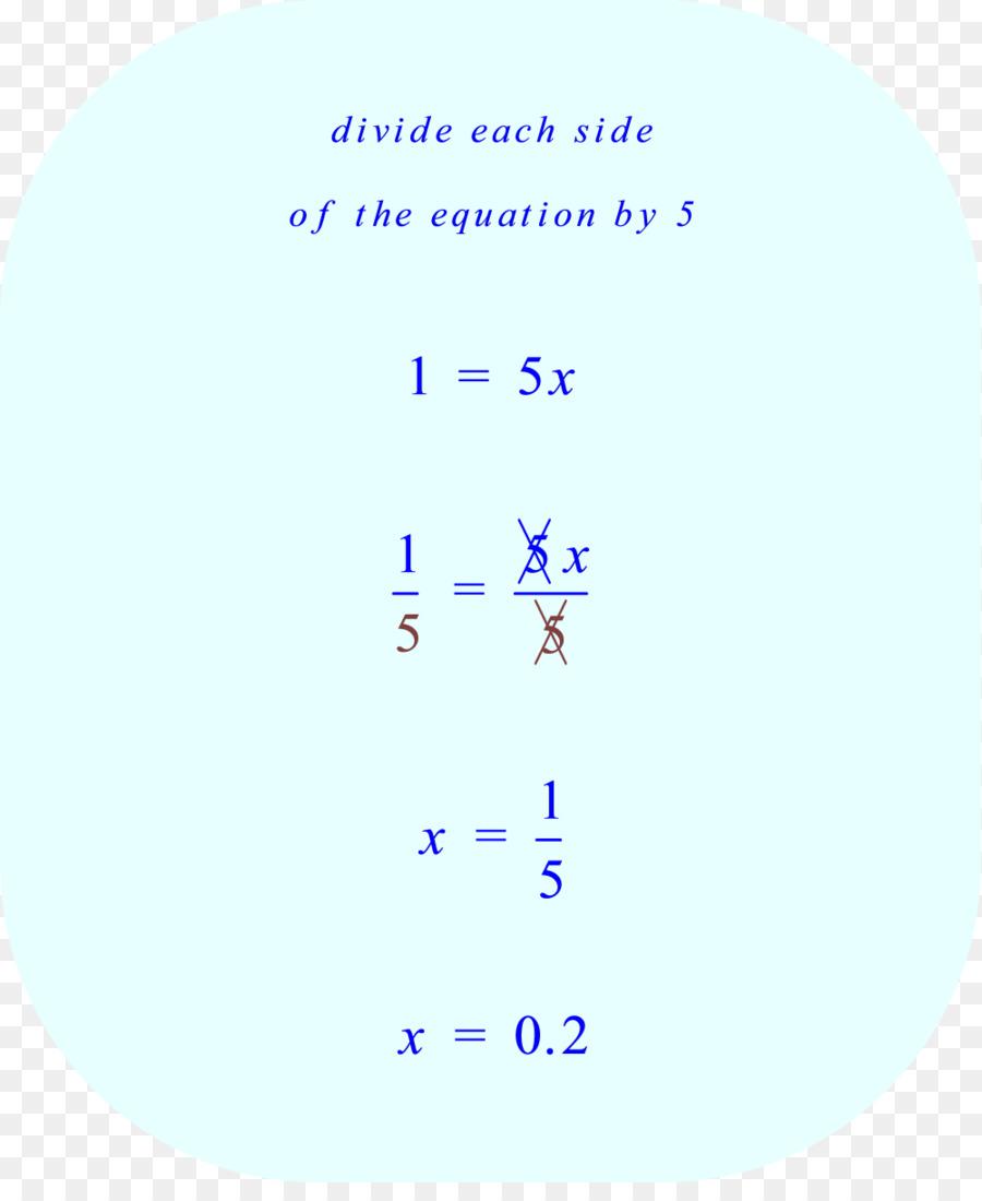 Equation Mathematics Change of variables Mathematical problem ...