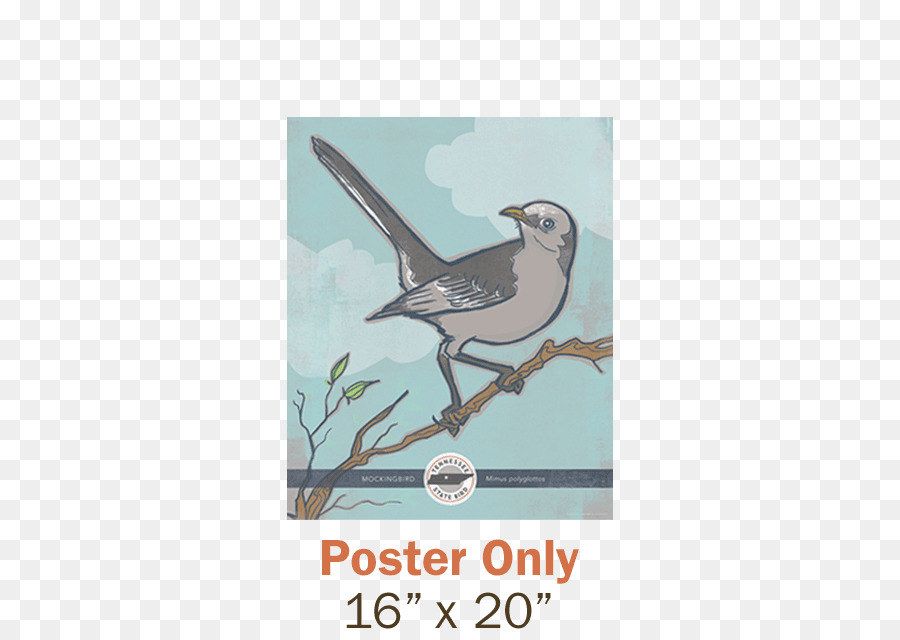 northern mockingbird tennessee texas state bird juice posters png