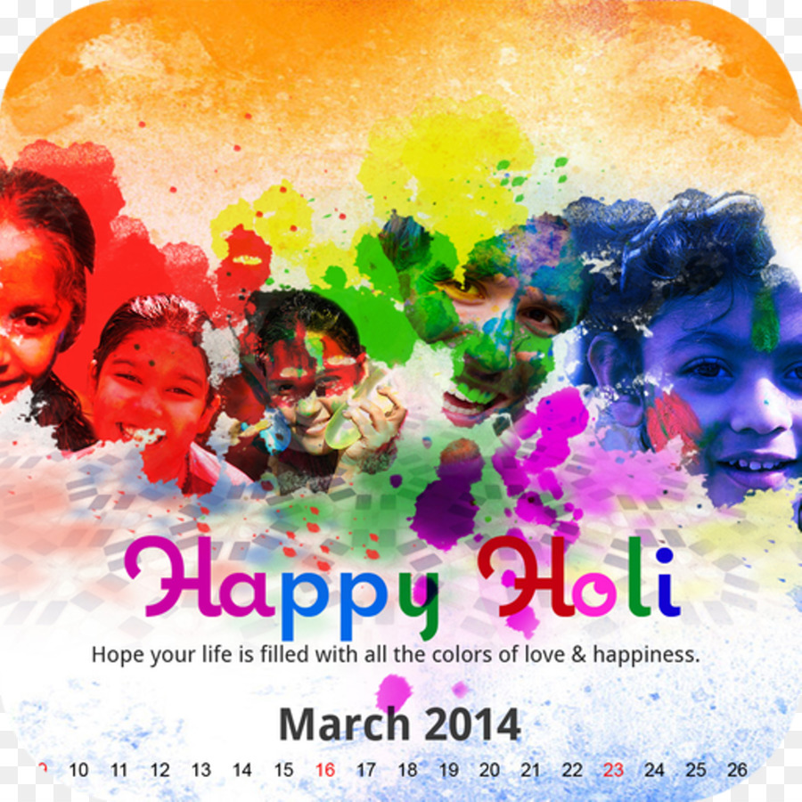 Holi Festival Of Colours Tour Wish Greeting Happy Holi Label Png