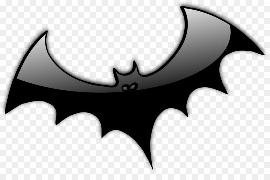Halloween en blanco y Negro imágenes prediseñadas - alas de ...