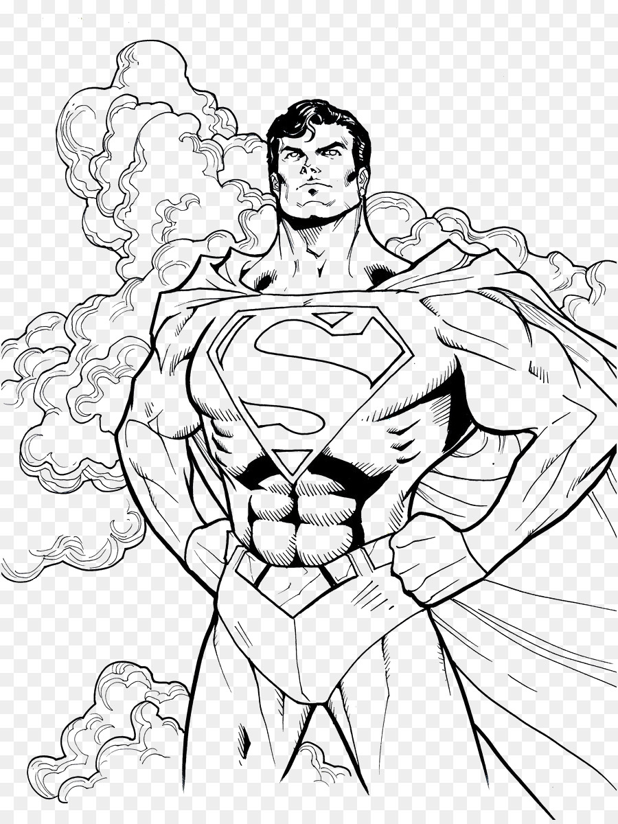 Superman Batman libro para Colorear, Dibujo de - Superman png dibujo ...