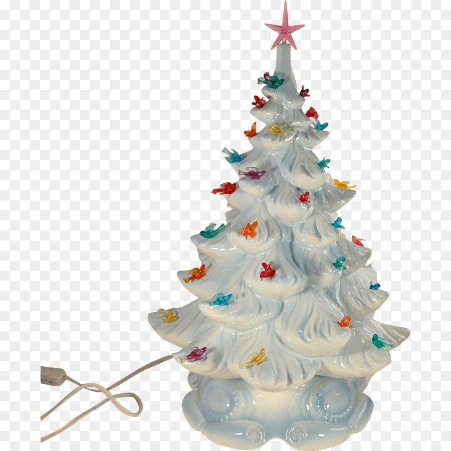 artificial christmas tree ceramic christmas lights decorate lollipop - Ceramic Christmas Decorations