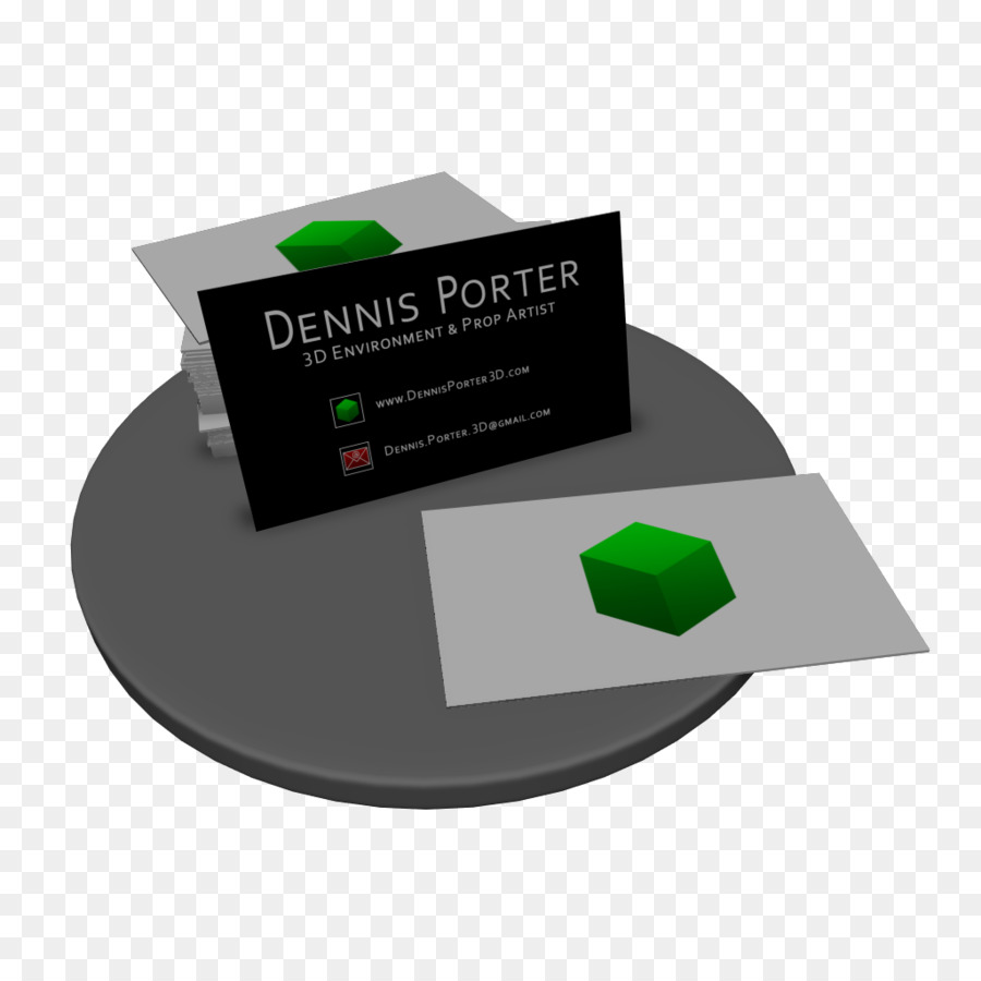 Business Cards Environment artist Concept art - Businesscard png ...