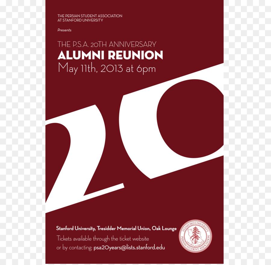 Wedding invitation Stanford University Paper Anniversary - business ...