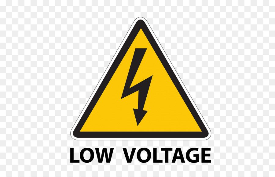 High voltage Safety Sign Symbol - led light png download - 580*580 ...