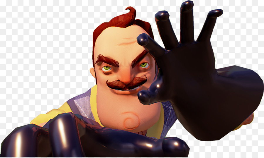 Hello Neighbor Figurine png download - 1072*641 - Free Transparent