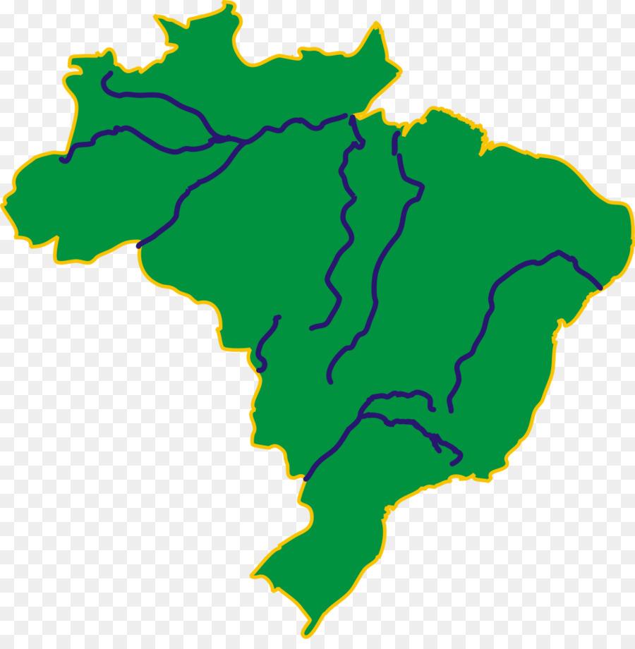 Brasil mapa de la Ciudad Clip art - el color de la bandera png ...