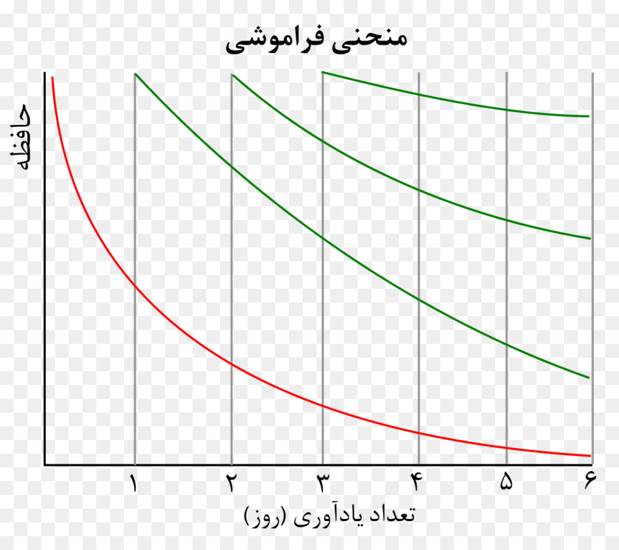 Melupakan Kurva Pembelajaran Diagram Kurva Poligon Flyer Png Unduh