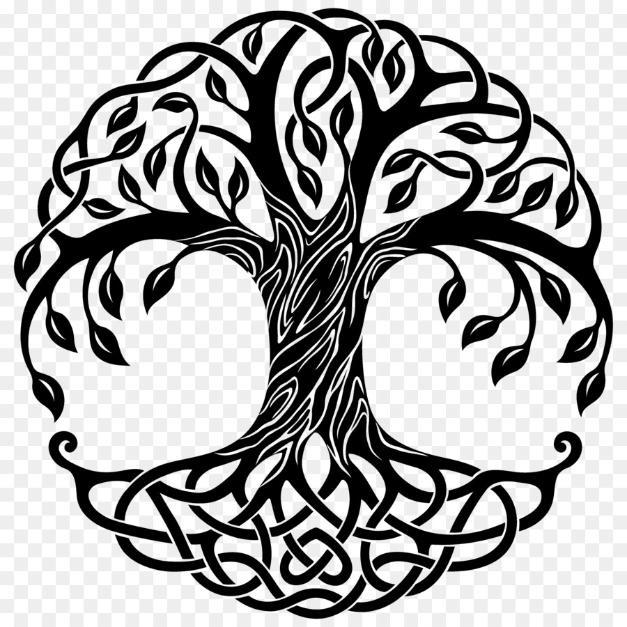 Tree Of Life Drawing Celtic Style Png Download 50005000 Free