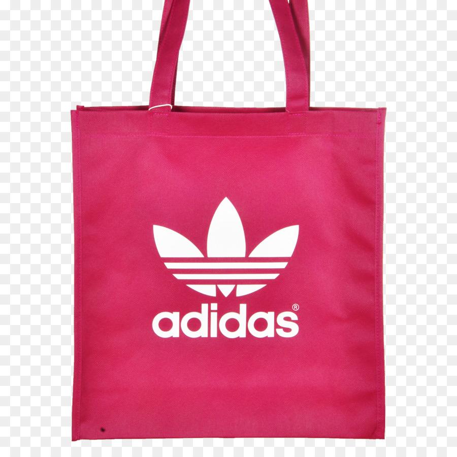 5a9742405f6 T-shirt Adidas Originals Trefoil Pakaian - red tas belanja - Unduh ...