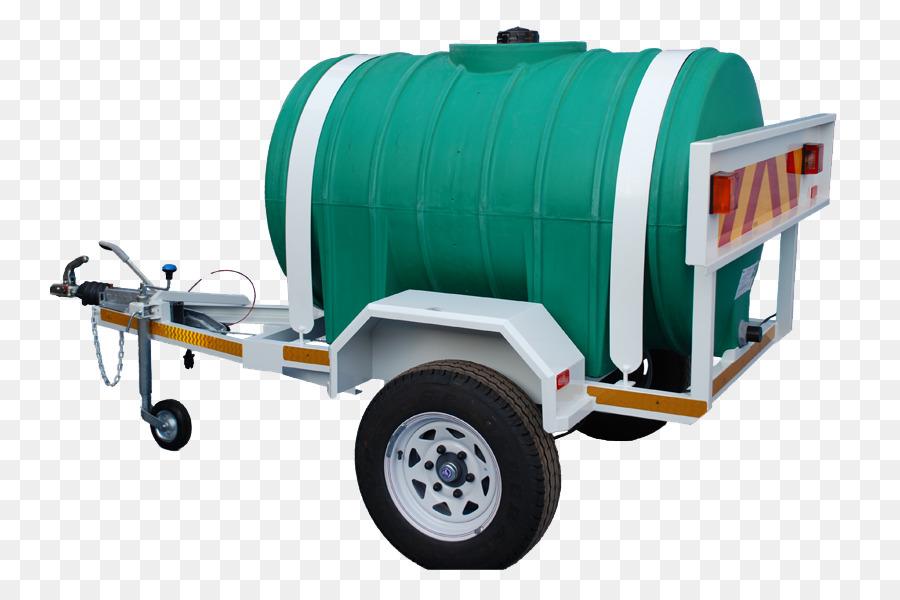 Cart Trailer Water tank Tank truck Storage tank - ground design png ...