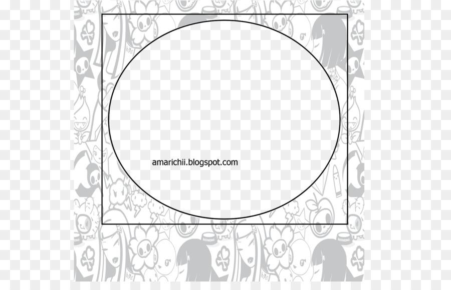 Paper White Picture Frames Line Art Design Png Download 1600
