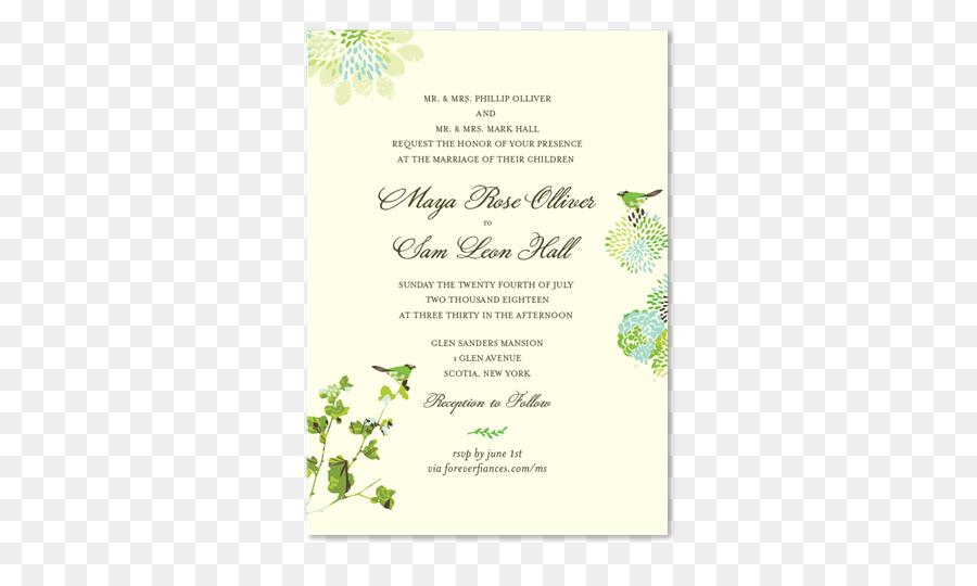 Polterabend Karte.Hochzeit Einladung Papier Grüne Hochzeit Polterabend Herbst