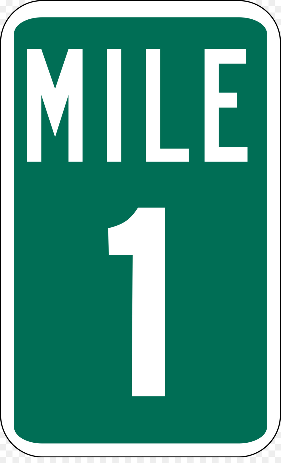 Milestone Traffic sign Mile Marker 0 Road - road