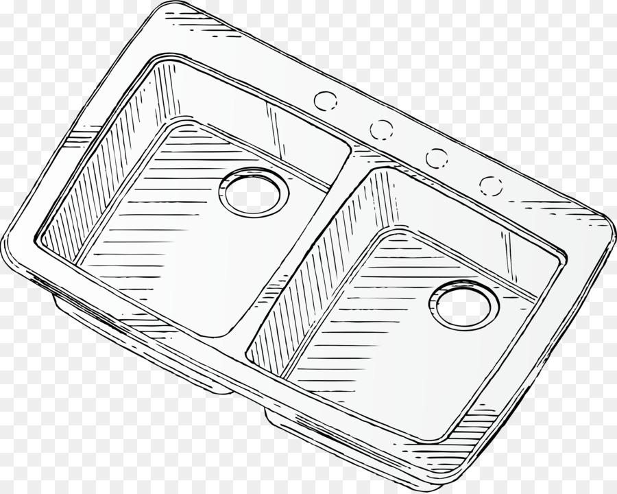 kitchen sink Tap Clip art - sink vector png download - 2400*1914 ...