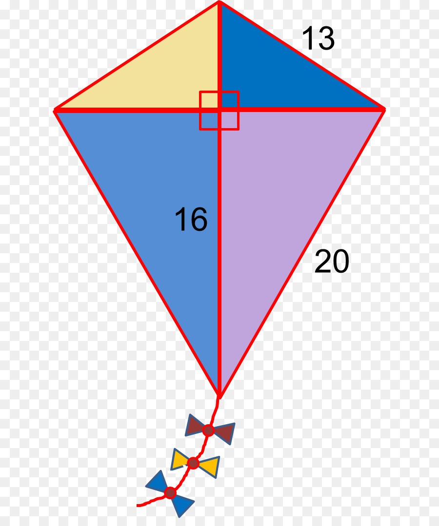 Triangle Pythagorean Theorem Kite Mathematics Triangle Kite Png