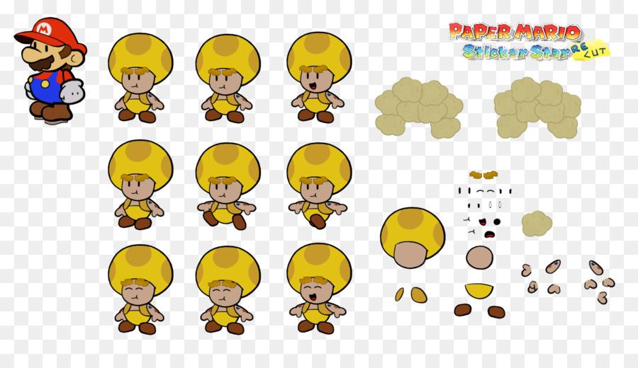 Paper Mario Sticker Star Super 64 Captain Toad Treasure Tracker Color Splash