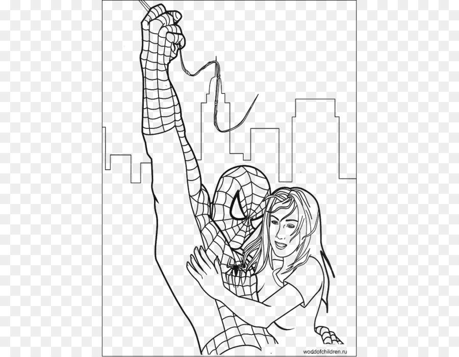 Spider-Man Duende Verde Veneno libro para Colorear Sandman - spider ...