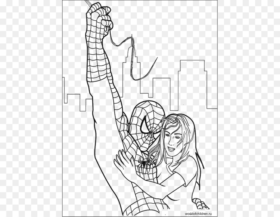 Spider Man Green Goblin Venom Coloring Book Sandman