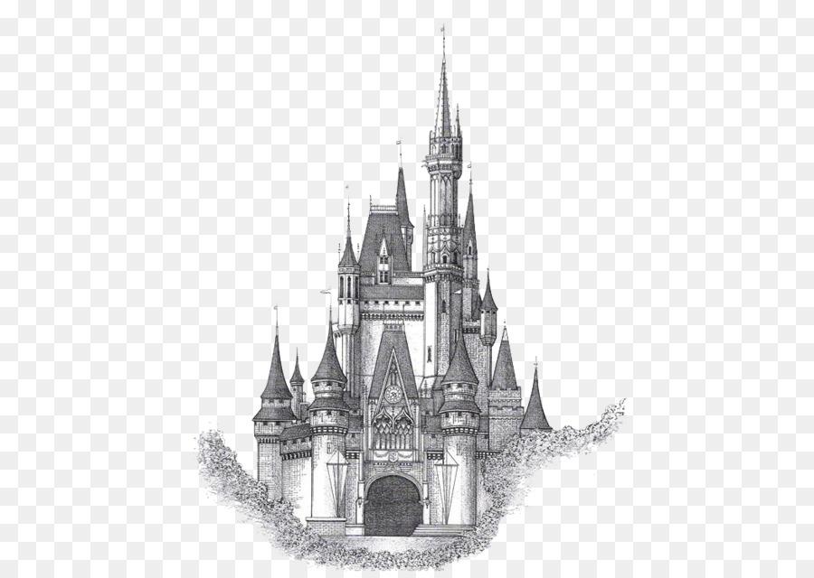 Neuschwanstein Castle Cinderella Castle Drawing Sketch
