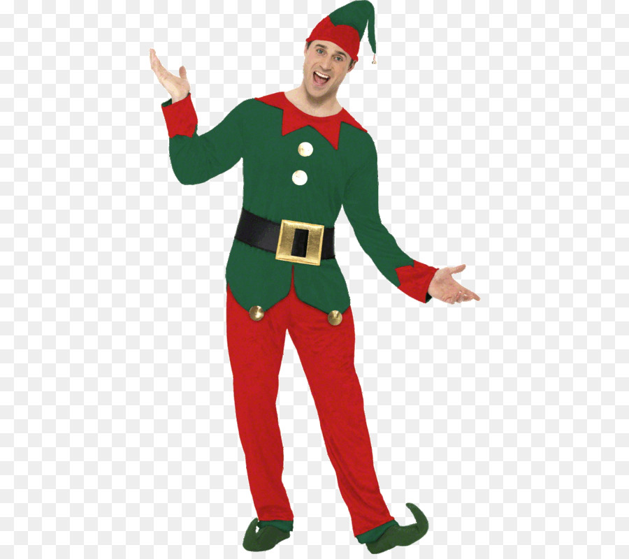 santa claus elf costume party clothing christmas outfit - Christmas Elf Costume