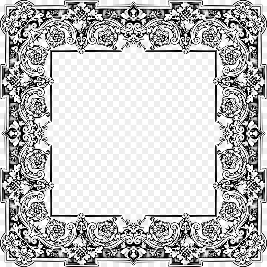 Title page Picture Frames Coloring book Ornament - others png ...