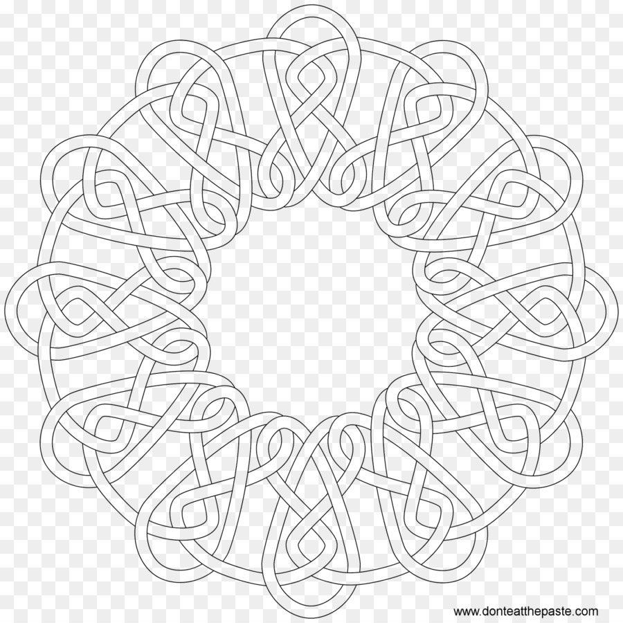 Celtic Knot Coloring Book Celts Mandala Islamic Facebook Cover
