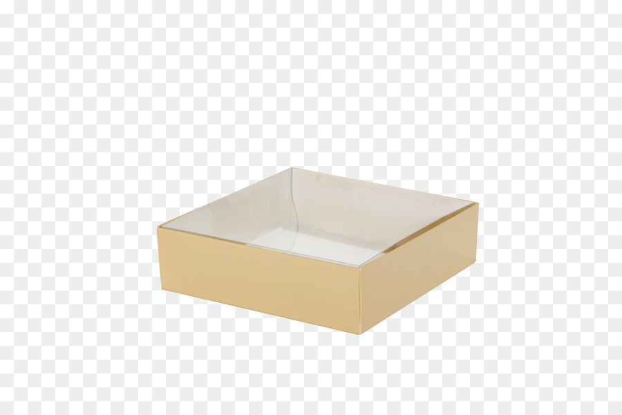 Decorative Box Lid Gift Wring Silver Small Clear