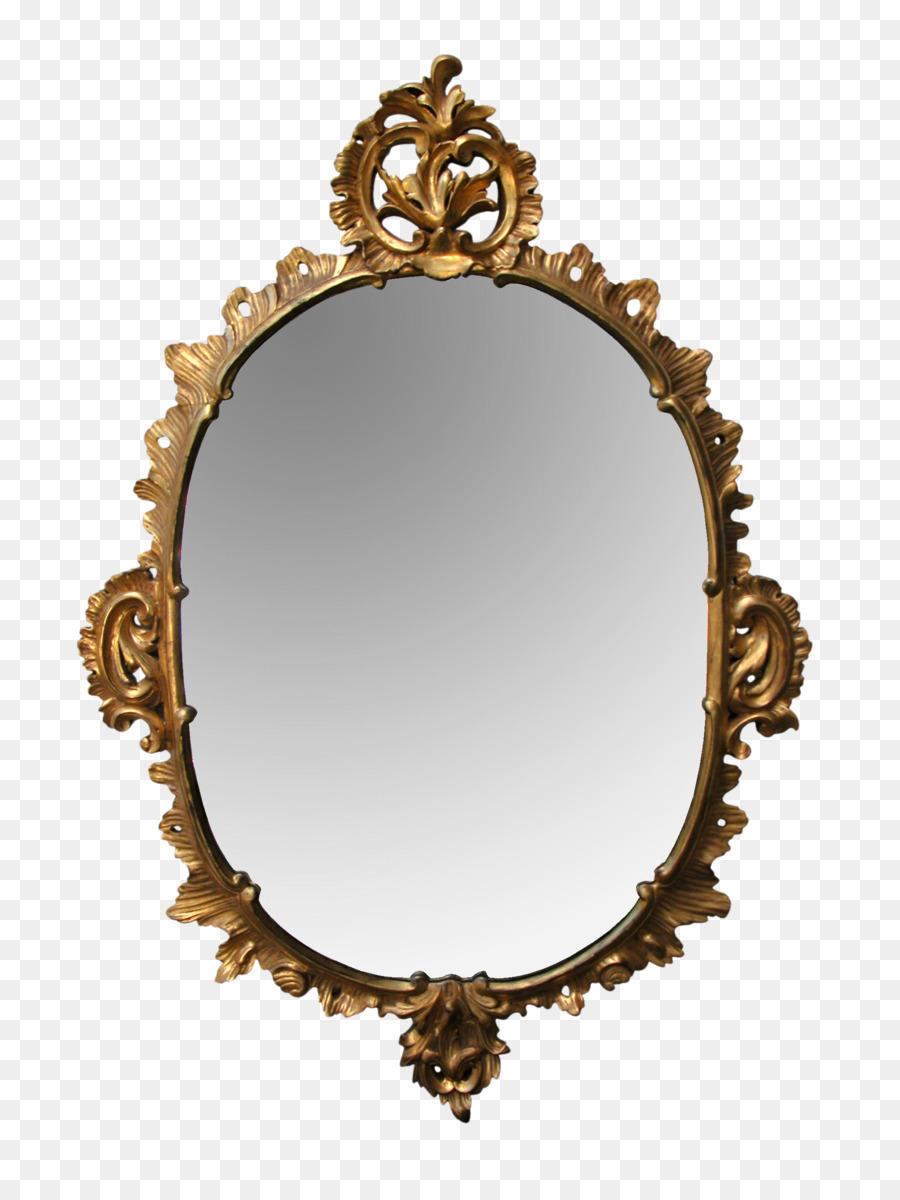 Rococo Rocaille Mirror Baroque Picture Frames Rococo Png Download