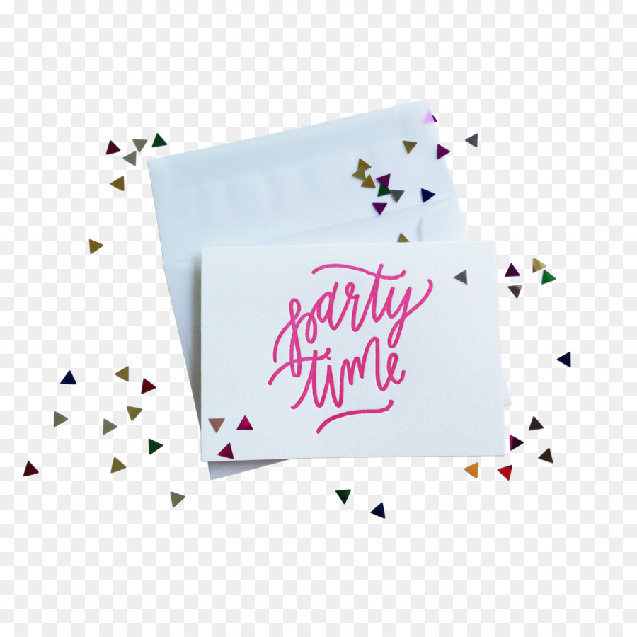 Greeting Note Cards Logo Font Red Confetti Png Download 1600