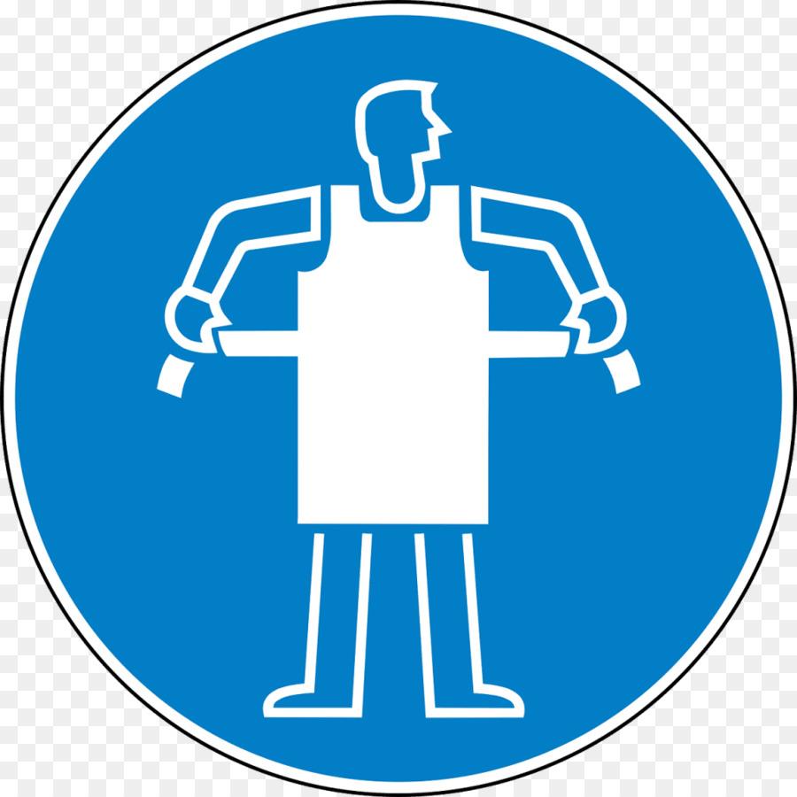 Equipamentos de proteção individual de segurança e saúde Ocupacional  Avental de Sinal - laboratório 05c3def3e2