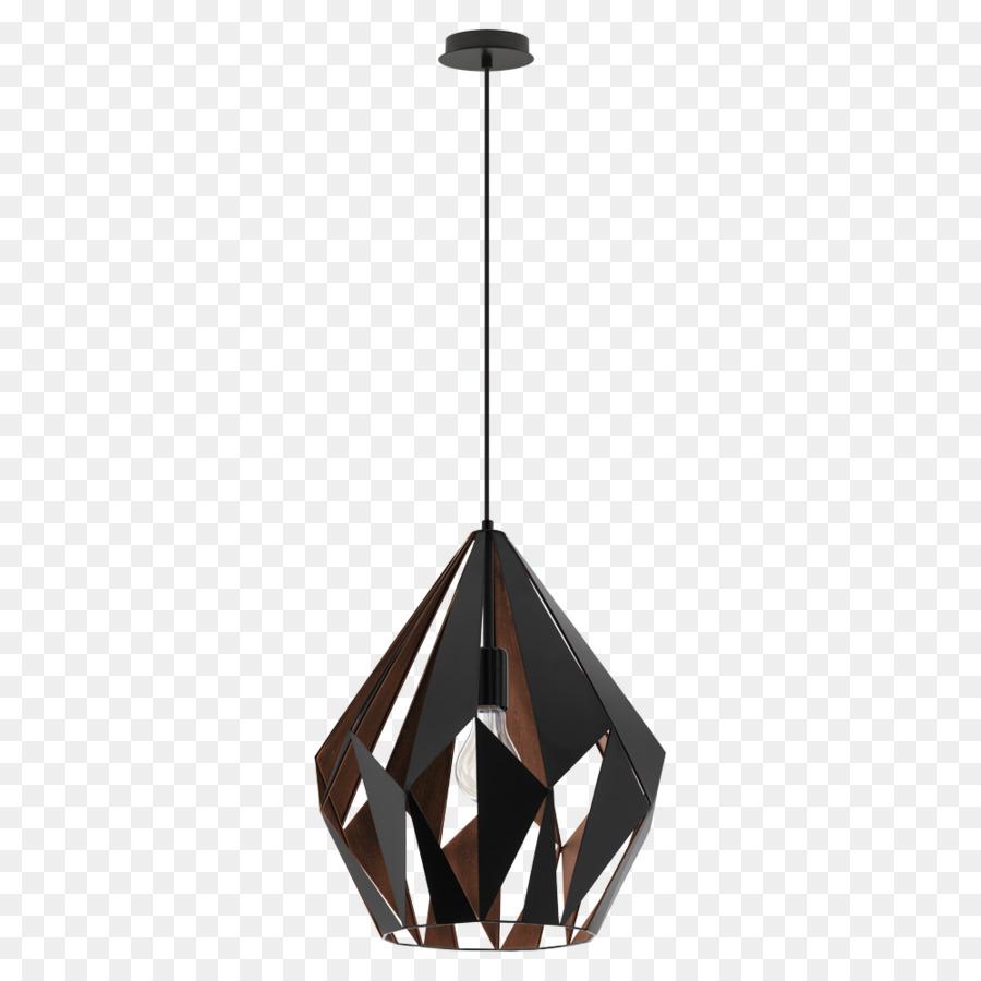 Pendant light EGLO Light fixture Lighting - hanging lights png ...