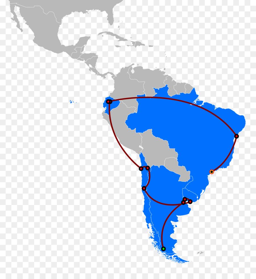 Latin America South America United States Blank map - latin ...