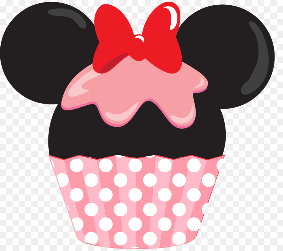 Minnie Mouse Cupcake Mickey Mouse Layer Cake Clip Art