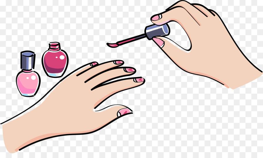 Nail Polish Nail Art Hand Model Manicure Nail Art Png Download