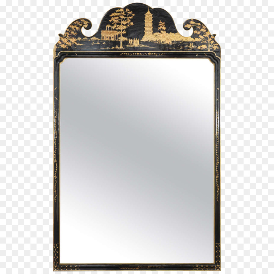 Chinese magic mirror Chinoiserie Glass - exquisite mirror png ...