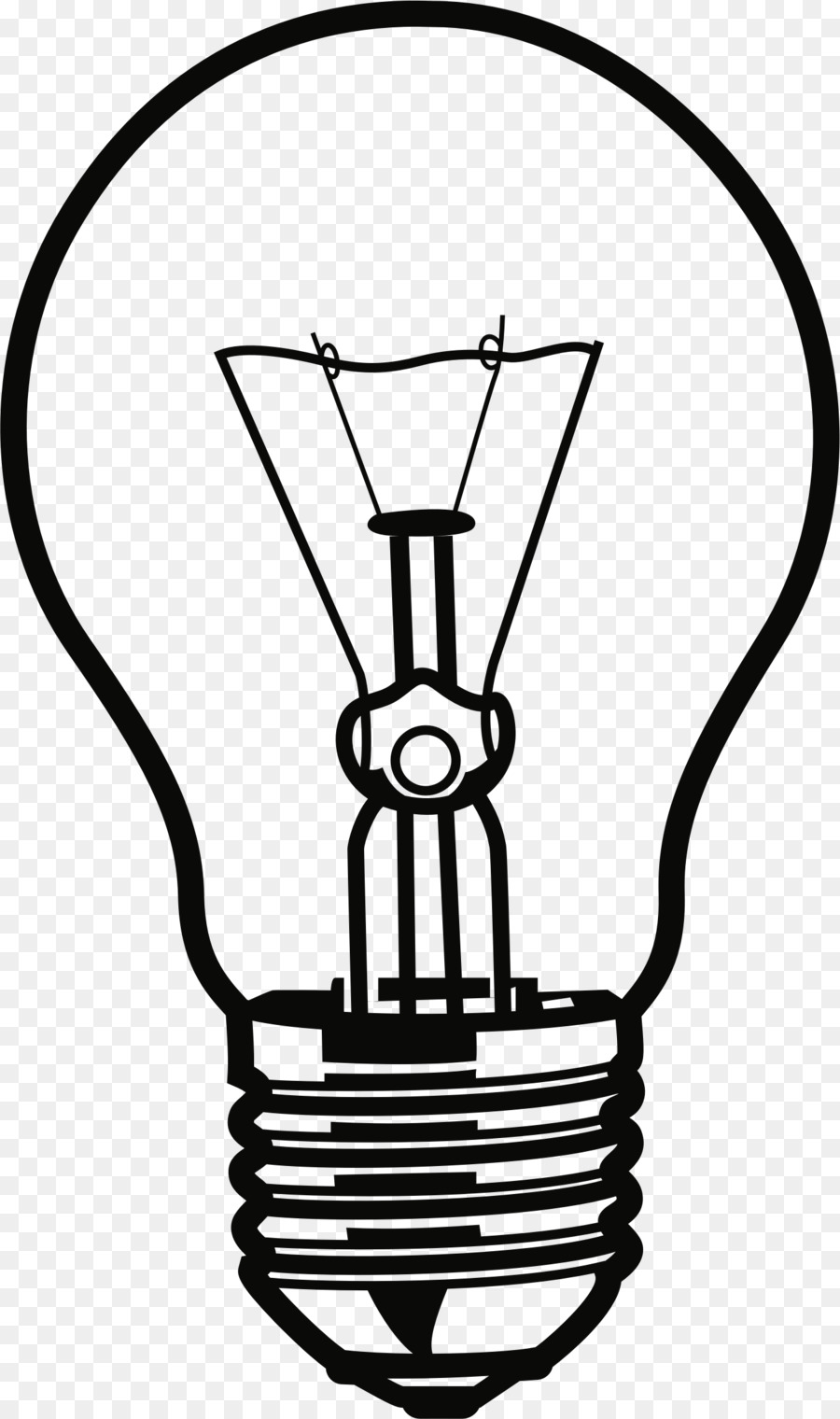 Incandescent Light Bulb Compact Fluorescent Lamp Clip Art