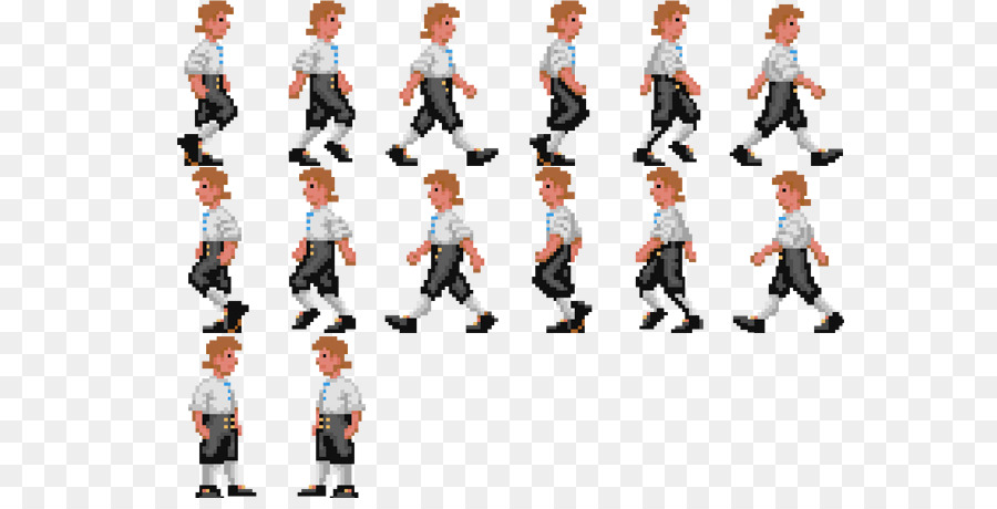 Animation Sprite Cascading Style Sheets Walk cycle Key frame ...