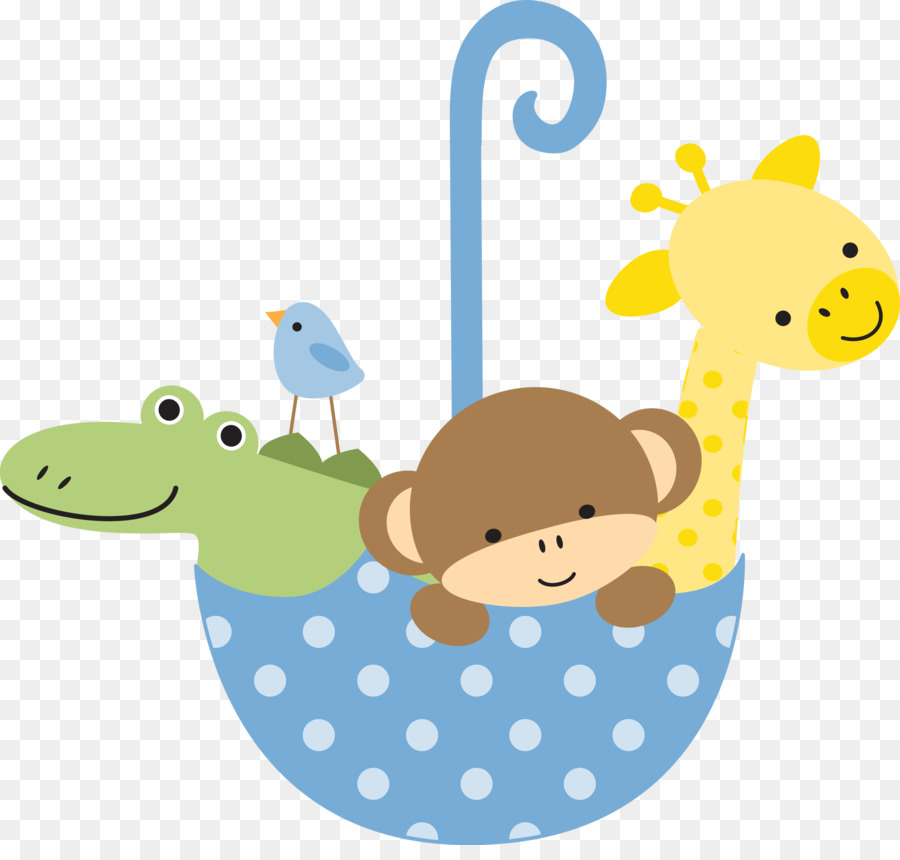 Toy Baby Rattle Clip Art Baby Boy Shower Png Download 2615 2456