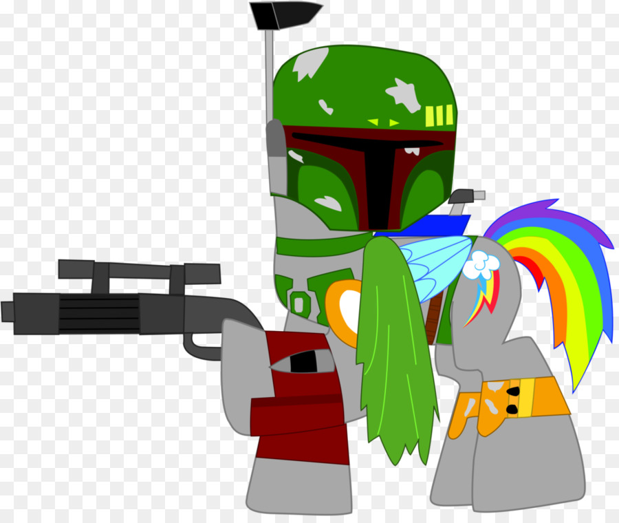 Boba Fett Jango Fett Rainbow Dash Jabba The Hutt Star Wars Png
